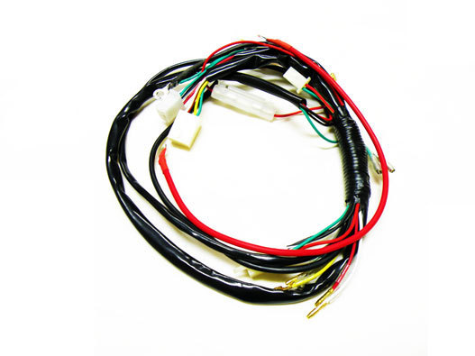 Electric Start/Kick Start Wiring Harness Kit, 50cc 70cc 90cc