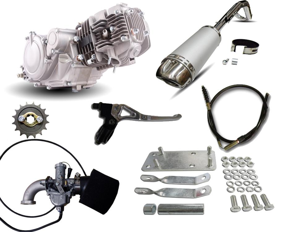honda postie ct110 gpx125 engine conversion kit rh dhz com au