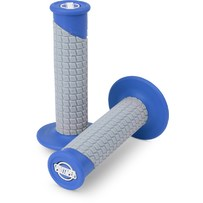 Pro Taper Clamp On Grips - Pillow Top Blue/Grey