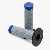 Pro Taper MX Full Diamond Grips, Tri-Density (Blue)