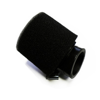 38mm Dual Stage Layer Bent Angled Air Filter