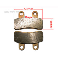 DHZ Brake Pads, Suit Front Brakes on DPRO110/DPRO125/OUTLAW140/DPRO160