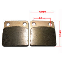 DHZ Brake Pads, Suit Rear Brakes on DPRO140, 2000-2013 Yamaha YZ85