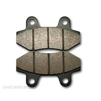 PitsterPro Front Brake Pads