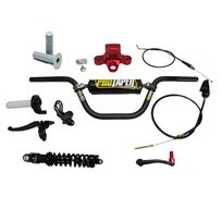 Big Nutz Triple Clamp and Pro Taper® Handlebar, Rear Shock and Gear Shift Combo Kit
