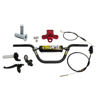 Billet 7075 Triple Clamp and Pro Taper® Handlebar Kit - Honda  CRF50 / XR50R