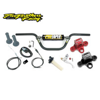 TBR Billet Triple Clamp and Pro Taper® Handlebar Kit - Honda XR50R (010-6-01P)