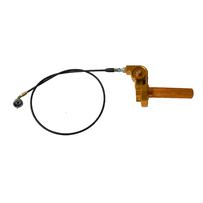 Honda CRF50 XJR50 CNC 1/4 Turn Throttle Assembly Kit (Gold)
