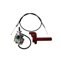 Honda CRF110 CNC 1/4 Turn Throttle Carburettor Kit (Red)