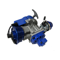 Performance Racing Blue 49cc 2 stroke Engine