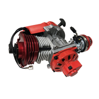 Performance Racing Red 54cc 2 stroke Engine