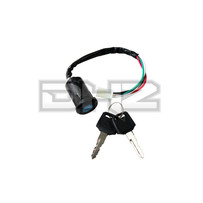4 Wire Ignition Key Barrel Switch