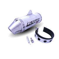 GPX XPower HP Muffler, Suit 39mm Pipe