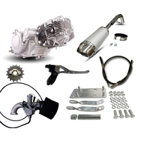 Honda Postie CT110 GPX125 Engine  Conversion Kit