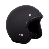 Clearance Sale: Open Face RXT A611C Low-Ride Helmet, MATT Black (XL)