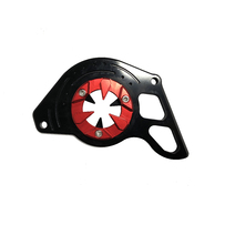 CNC Engine Left Cover for Honda Grom (Red)