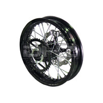 "PitsterPRO 12"" Rear Wheel for LXR, with Brake Disc and Sprocket"