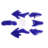 CRF50 7 Pieces Blue Colored Plastic Kit