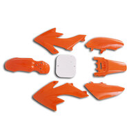 CRF50 7 Pieces Orange Colored Plastic Kit