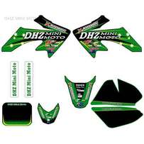DHZ 3M Sticker Kit Green CRF50 style