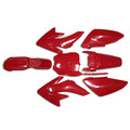 CRF70 7 Pieces Red Colored Plastic Kit