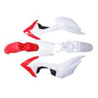 CRF110 Plastic Kit (Red/White)