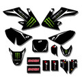 Monster Energy CRF50 Sticker Kit