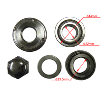 Steering Stem Taper Bearings, Cap Kit