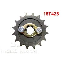 16T Sprocket #428, 17mm Shaft