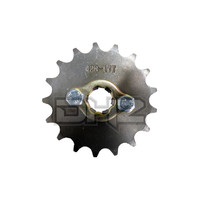 17T Sprocket #428, 20mm Shaft