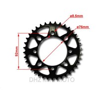 HD 37T Rear Sprocket, #428 Chain Pitch