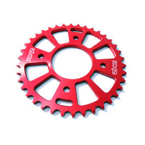 36T XJR50/CRF50/XR50 Red Billet Rear Sprocket #420 Chain Pitch