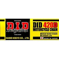 DID Standard 420D 120RB Roller Chain