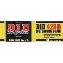 DID Standard 428D 120RB Roller Chain