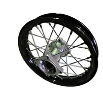 "10"" Rear, 15mm Axle Hub, HD Black Rim"