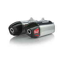 Yoshimura Signature Series RS-9 Dual Exhaust System, Honda CRF450R 2013-14 SO SS-AL-CF Dual
