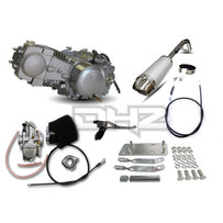 Honda Postie CT110 140 Engine  Conversion Kit, with OKO 26mm Flatside Race Carby