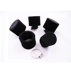4 X 48mm Dual Stage Layer Bent Angled Air Filter