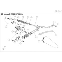 DAYTONA 150F VALVE MECHANISM