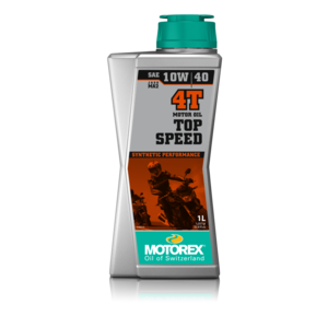 Motorex Top Speed 4T 10W40 - 1 Litre