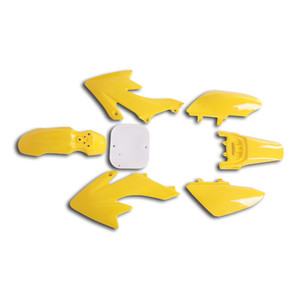 CRF50 7 Pieces Yellow Colored Plastic Kit