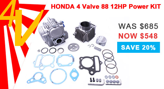 Honda 4 Valvle 88 12HP Power Kit