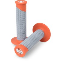 Pro Taper Clamp On Grips - Pillow Top Orange/Grey