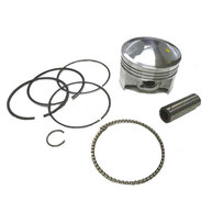 54mm High Compression Piston Kit, 13mm Piston Pin, GPX 125cc, Daytona 125cc Engine