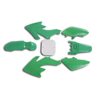 CRF50 7 Pieces Green Colored Plastic Kit